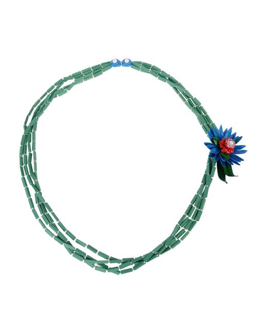 DSquared² - Blue Necklace - Lyst