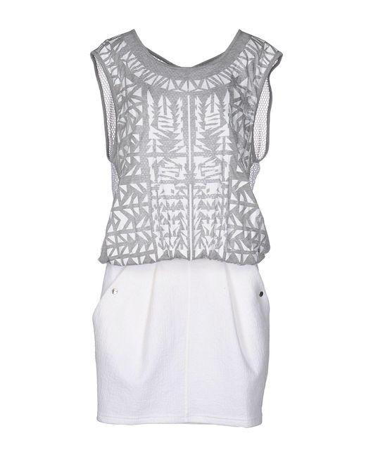 Faith Connexion | White Knee-length Dress | Lyst