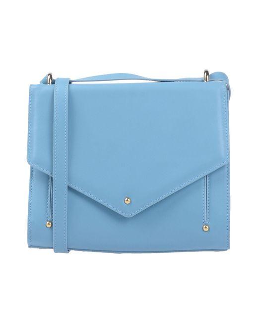 Sara Battaglia - Blue Cross-body Bag - Lyst