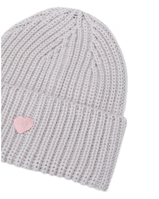 ... Federica Moretti - Gray Hat - Lyst 6fab91a12397