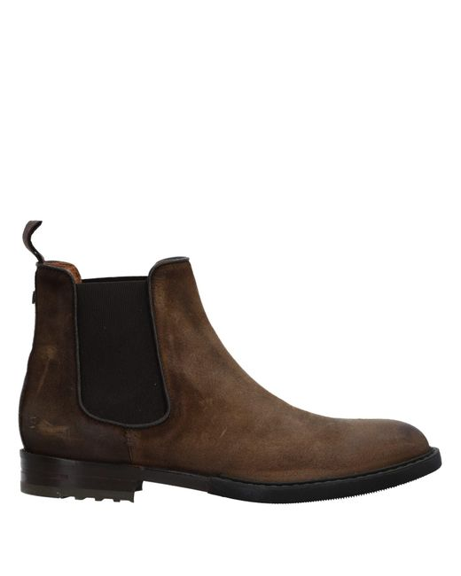 Brimarts - Brown Ankle Boots for Men - Lyst