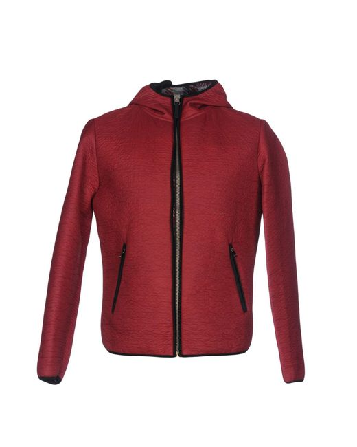 Fred Mello - Red Jacket for Men - Lyst