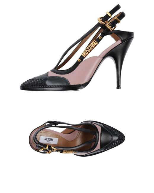 Moschino - Black Court - Lyst