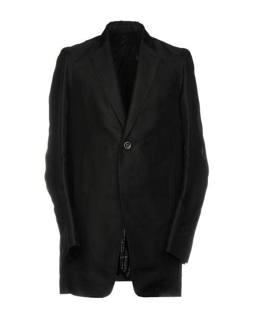 Rick Owens - Black Blazer for Men - Lyst