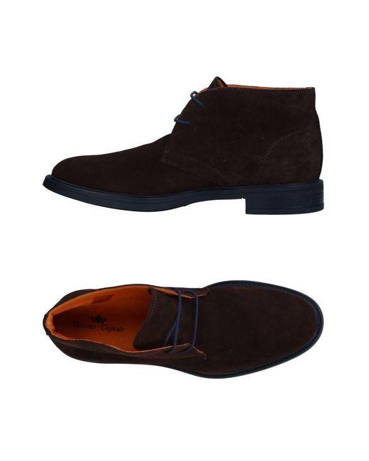Domenico Tagliente - Brown Lace-up Shoe for Men - Lyst