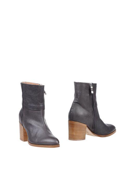 Alberto Fermani - Gray Ankle Boots - Lyst