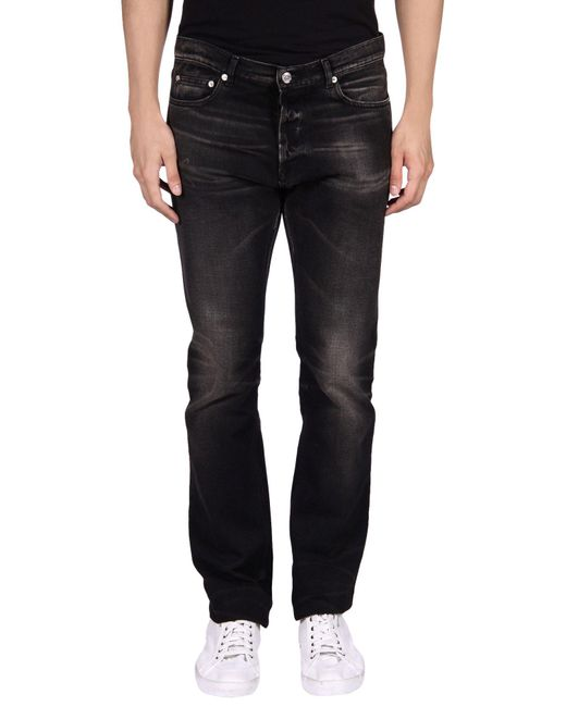 Golden Goose Deluxe Brand - Black Denim Pants for Men - Lyst