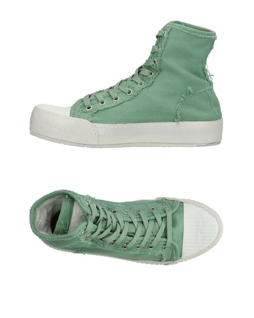 MM6 by Maison Martin Margiela - Green High-tops & Sneakers - Lyst