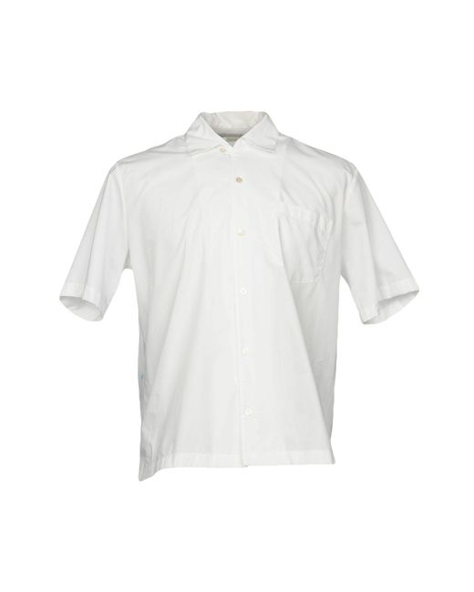 Stella McCartney - White Shirt for Men - Lyst