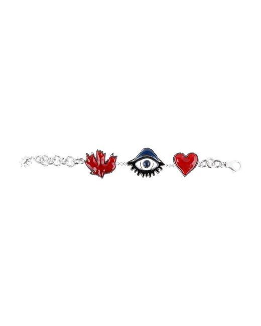 DSquared² - Red Bracelet - Lyst