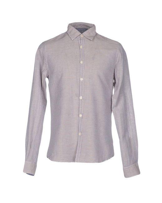 AT.P.CO | White Shirt for Men | Lyst