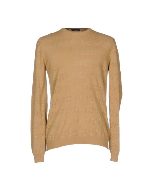 Roberto Collina - Natural Sweaters for Men - Lyst
