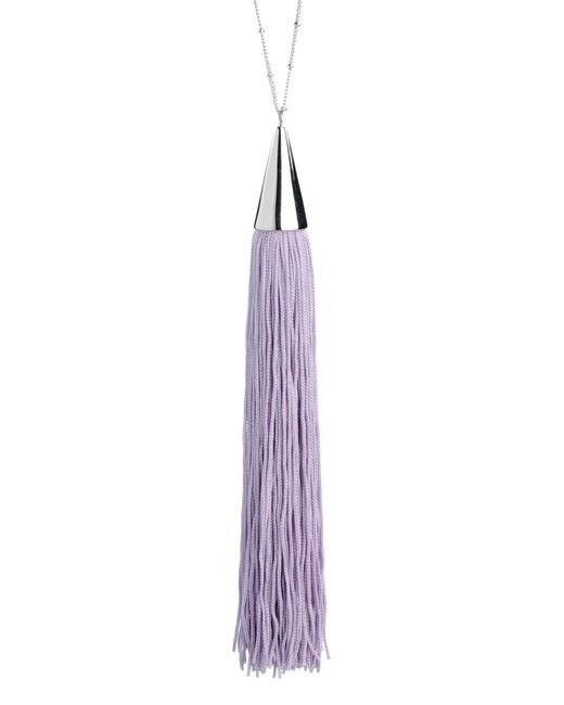 Eddie Borgo | Purple Necklace | Lyst