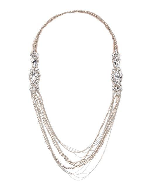 Beavaldes | Gray Necklace | Lyst