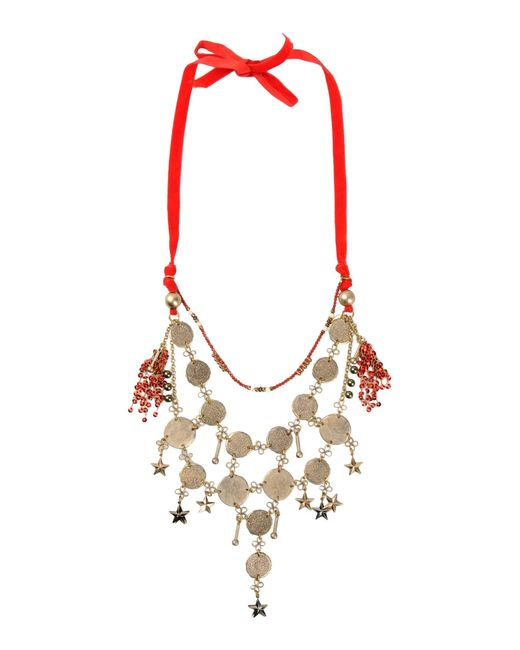 Erickson Beamon | Red Necklace | Lyst