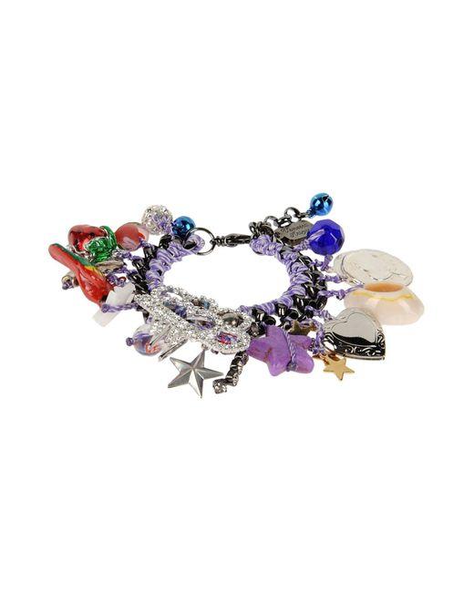 Venessa Arizaga | Purple Bracelet | Lyst