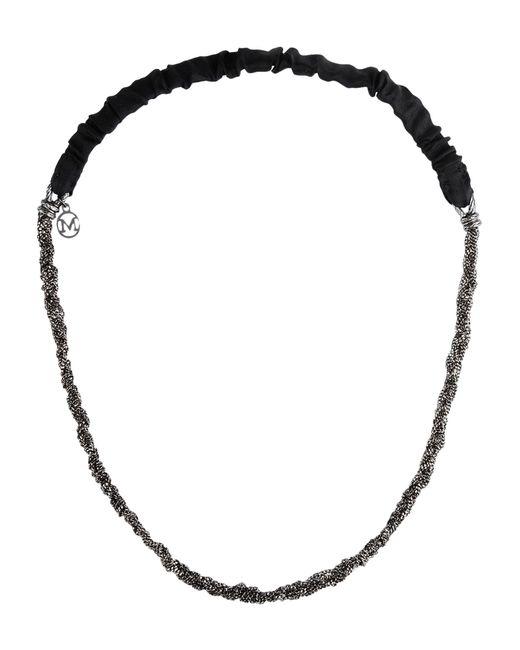 Maison Michel | Black Necklace | Lyst