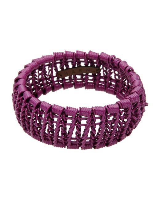 Marni | Purple Bracelet | Lyst