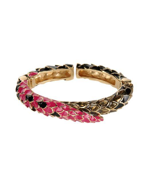 Roberto Cavalli | Purple Bracelet | Lyst