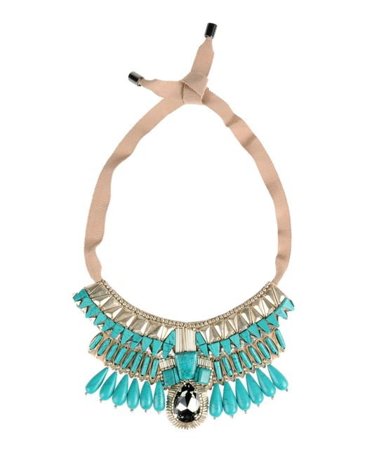 Matthew Williamson | Blue Necklace | Lyst