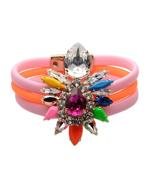 Shourouk | Orange Bracelet | Lyst