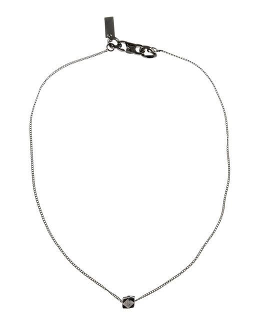 Armani | Metallic Necklace | Lyst