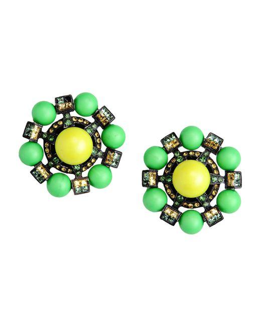 Lanvin | Green Earrings | Lyst
