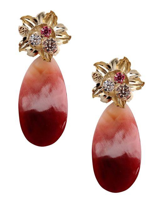 DSquared² | Purple Earrings | Lyst
