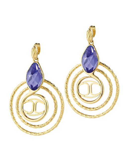 Just Cavalli | Metallic Earrings | Lyst