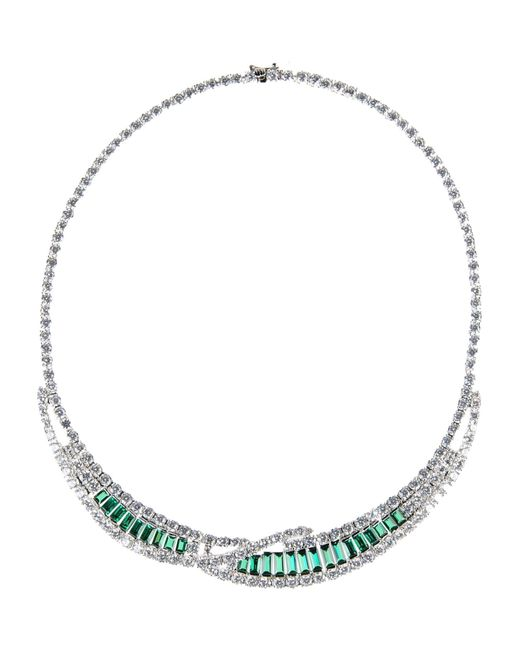 CZ by Kenneth Jay Lane | Green Necklace | Lyst