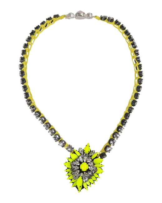 Shourouk   Green Necklace   Lyst