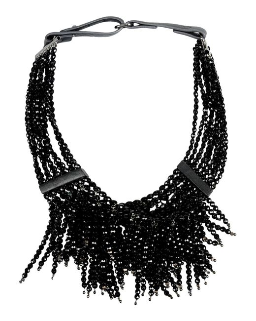 Brunello Cucinelli | Black Necklace | Lyst