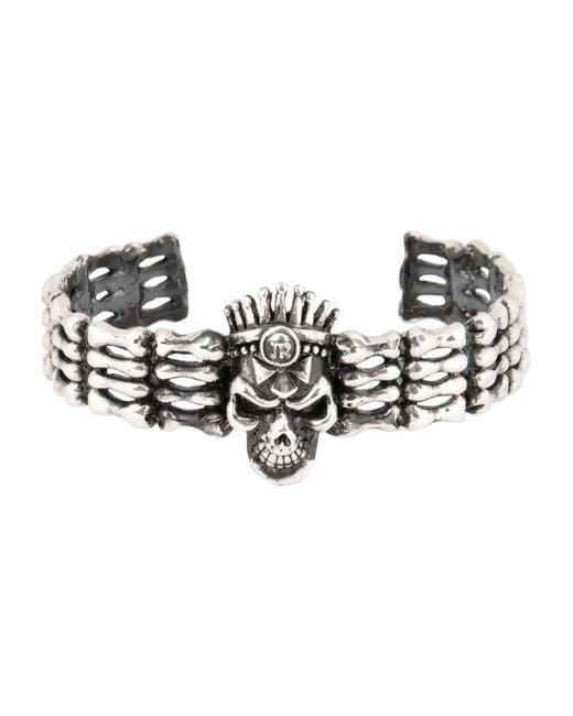 John Richmond   Metallic Bracelet   Lyst