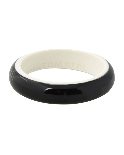 Tom Rebl | Black Bracelet | Lyst