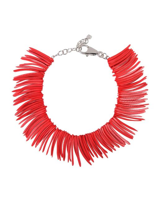 DSquared²   Red Necklace   Lyst