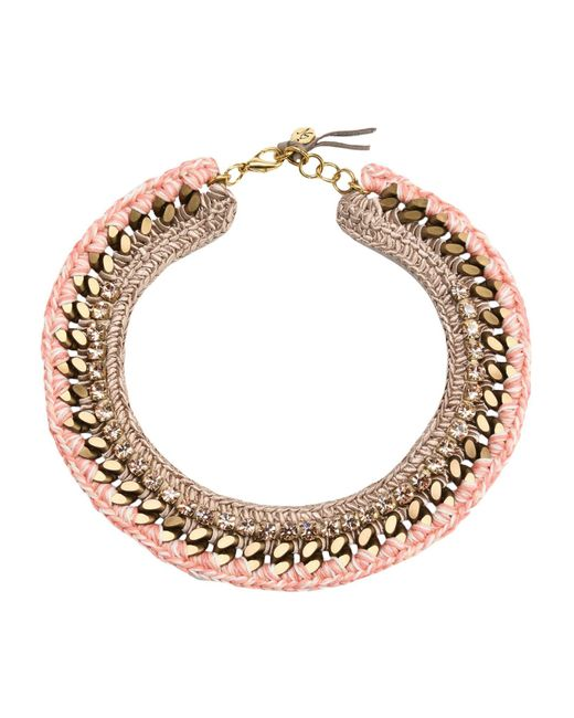 First People First | Pink Necklace | Lyst