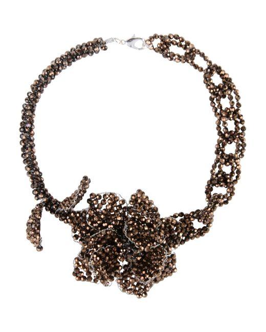 Night Market   Metallic Necklace   Lyst