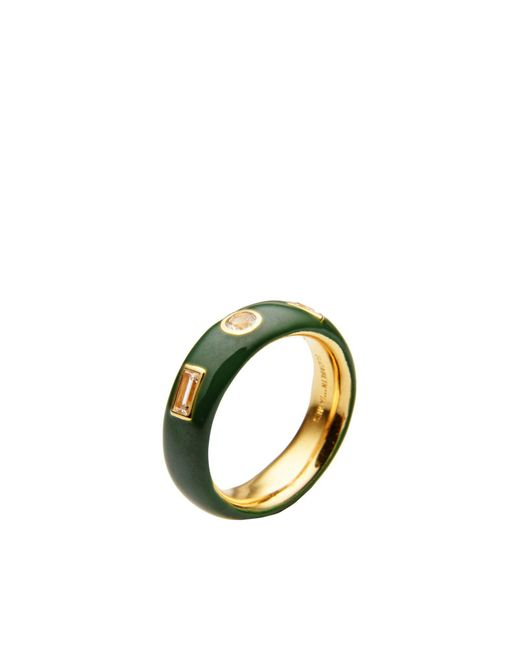 Elizabeth and James | Green Ring | Lyst
