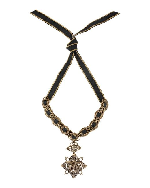 Alberta ferretti Necklace in Black
