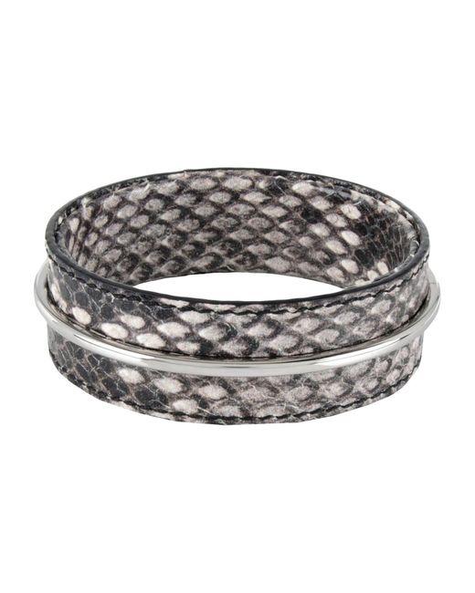 Acne | Gray Bracelet | Lyst