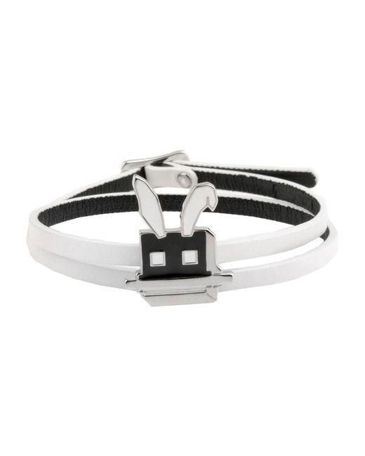 McQ Alexander McQueen | White Bracelet | Lyst