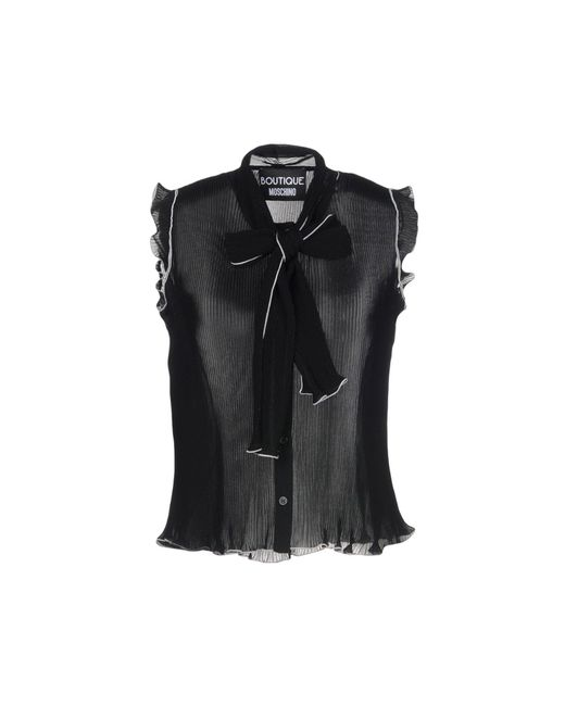 Boutique Moschino - Black Shirt - Lyst
