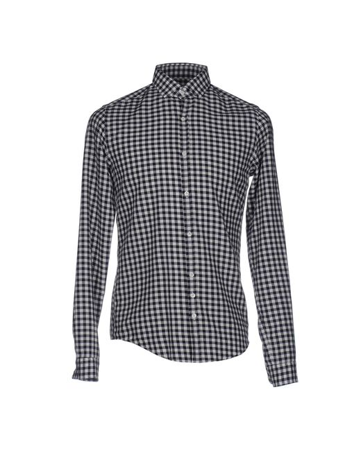 Aglini   Gray Shirt for Men   Lyst