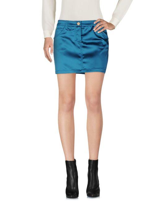 Frankie Morello - Blue Mini Skirts - Lyst