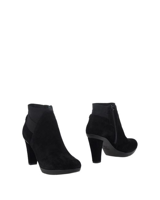 Geox - Black Ankle Boots - Lyst