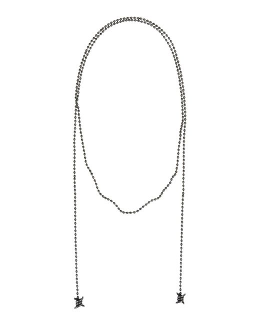 DSquared²   Gray Necklace   Lyst