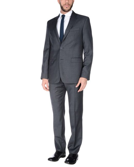 Versace Suit In Grey For Men