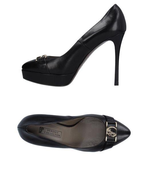 Versace - Black Pump - Lyst