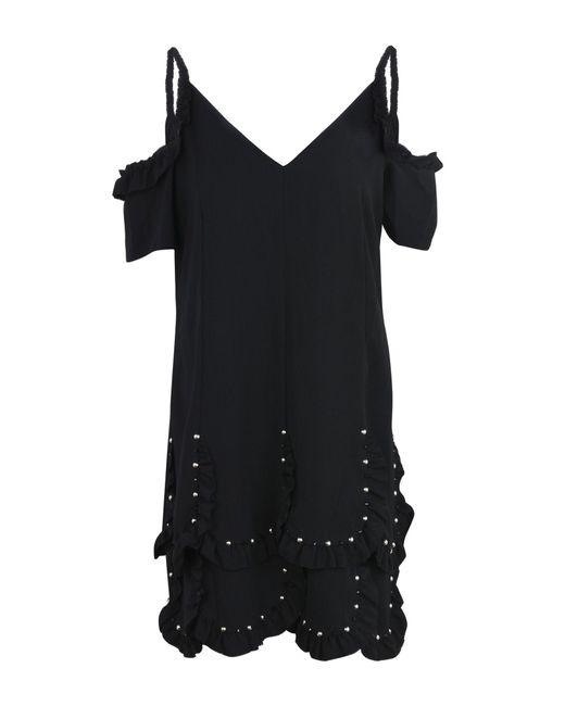Robe Courte Kooples En Coloris Noir The Lyst AqdFOx5q
