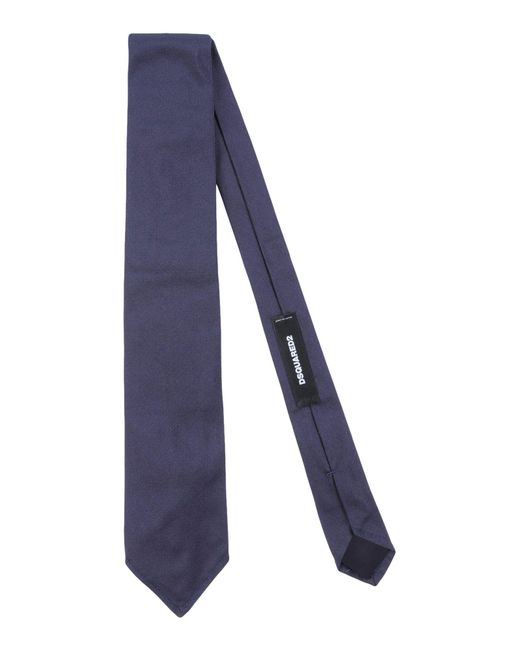 DSquared² - Blue Tie for Men - Lyst